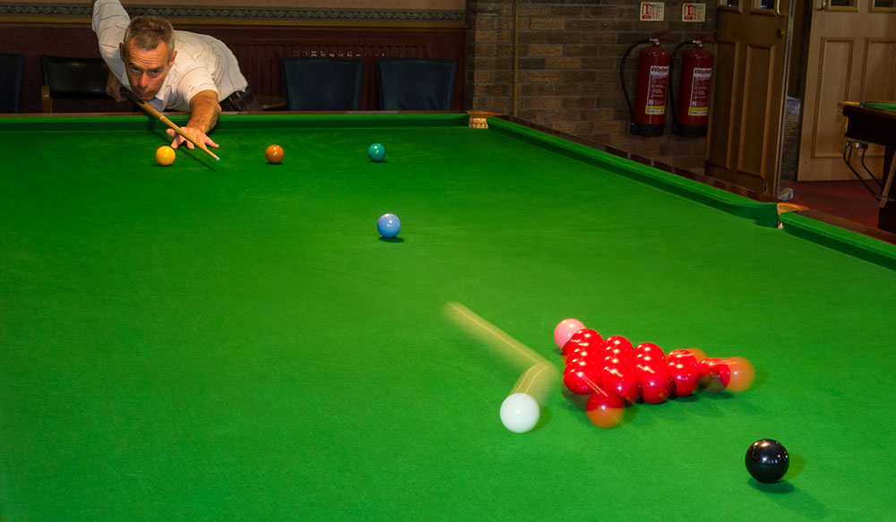 Snooker Coaching Solihull - By EASB trained Steve Paling